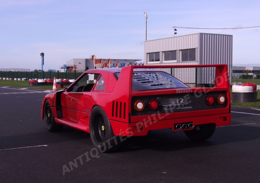Voiture F40 A Enfant Moteur Ferrari Pour XZiuPk