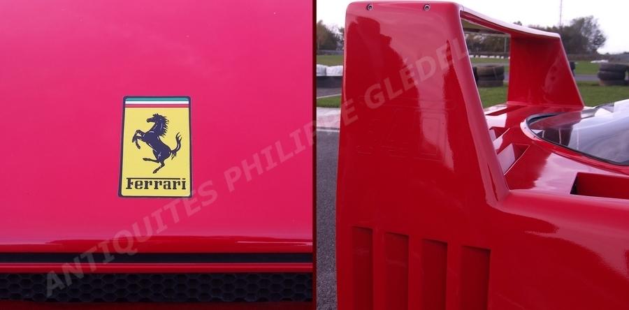 Pour Moteur Ferrari Enfant Voiture F40 A ybgf76Yv