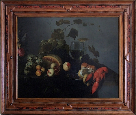 Tableau-nature-morte-hollandaise-XVIIe