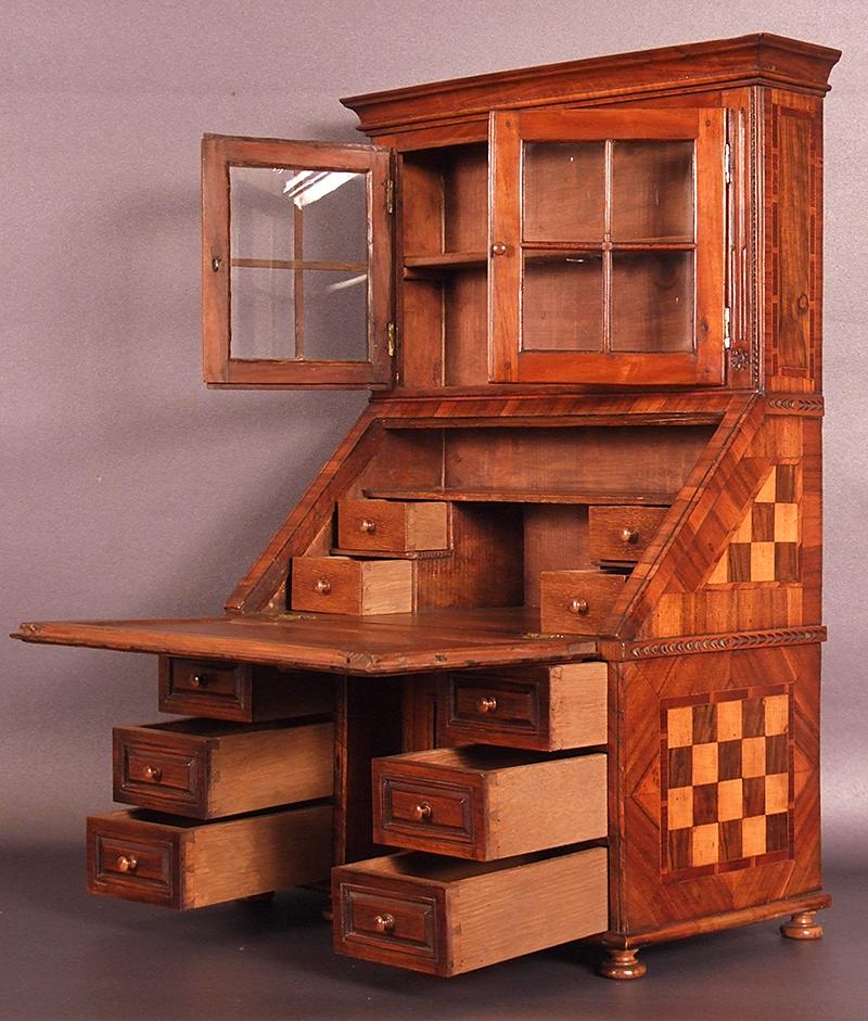 Bureau Cabinet Scriban De Maitrise Epoque Louis Xvi