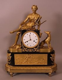 Gilt-patinated-bronze-Diane-huntress-Directoire-period