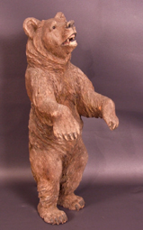 Carved-limewood-Black-Forest bear - School-Brientz-SwittzerCarved-limewood-Black-Forest-bear-School-Brientz-Swittzerland-c-early-1900-s